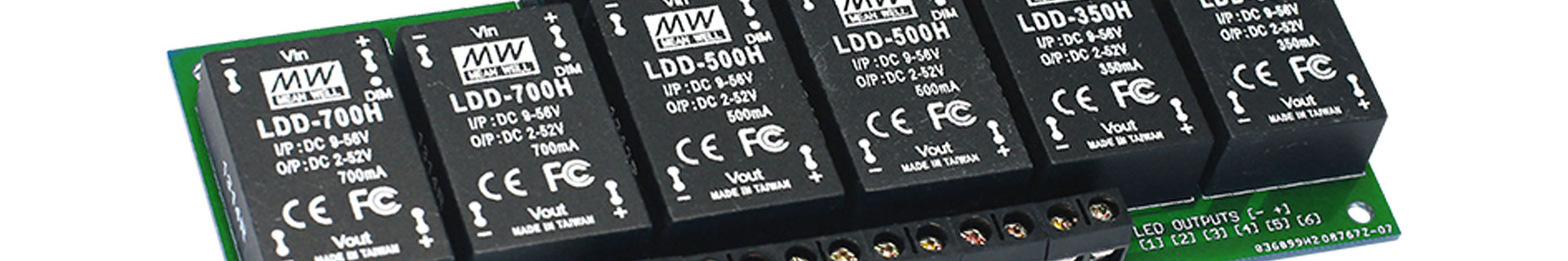 Mean Well DCDC LED drivers