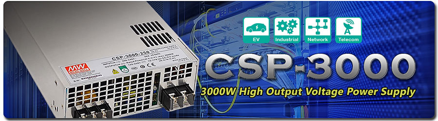 Mean Well CSP-3000 Series Power Supplies