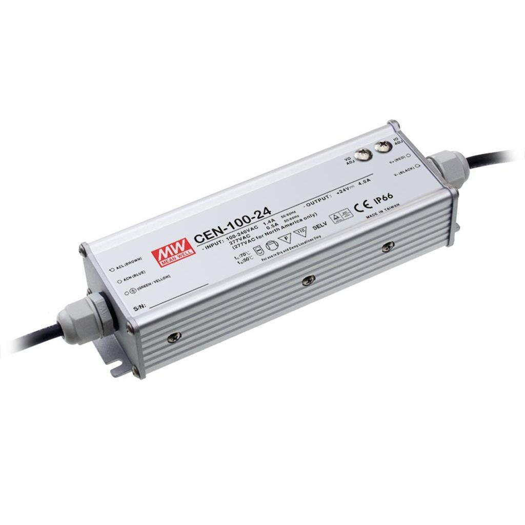 Mean Well CEN-100-30 AC/DC C.C. C.V. Box Type - Enclosed 30V 3.2A Single output LED driver