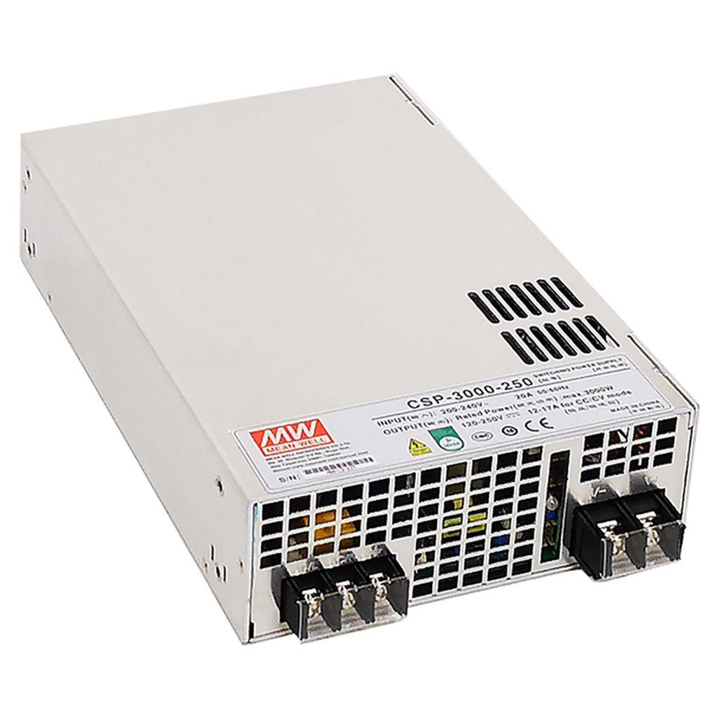 Mean Well CSP-3000-120 AC/DC Box Type - Enclosed 120V 25A Single output Power Supply