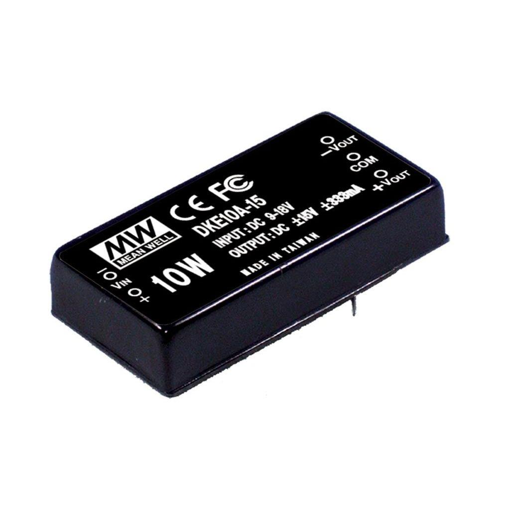 Mean Well DKE10A-12 DC/DC PCB Mount - Through Hole -12V 0.42A Converter