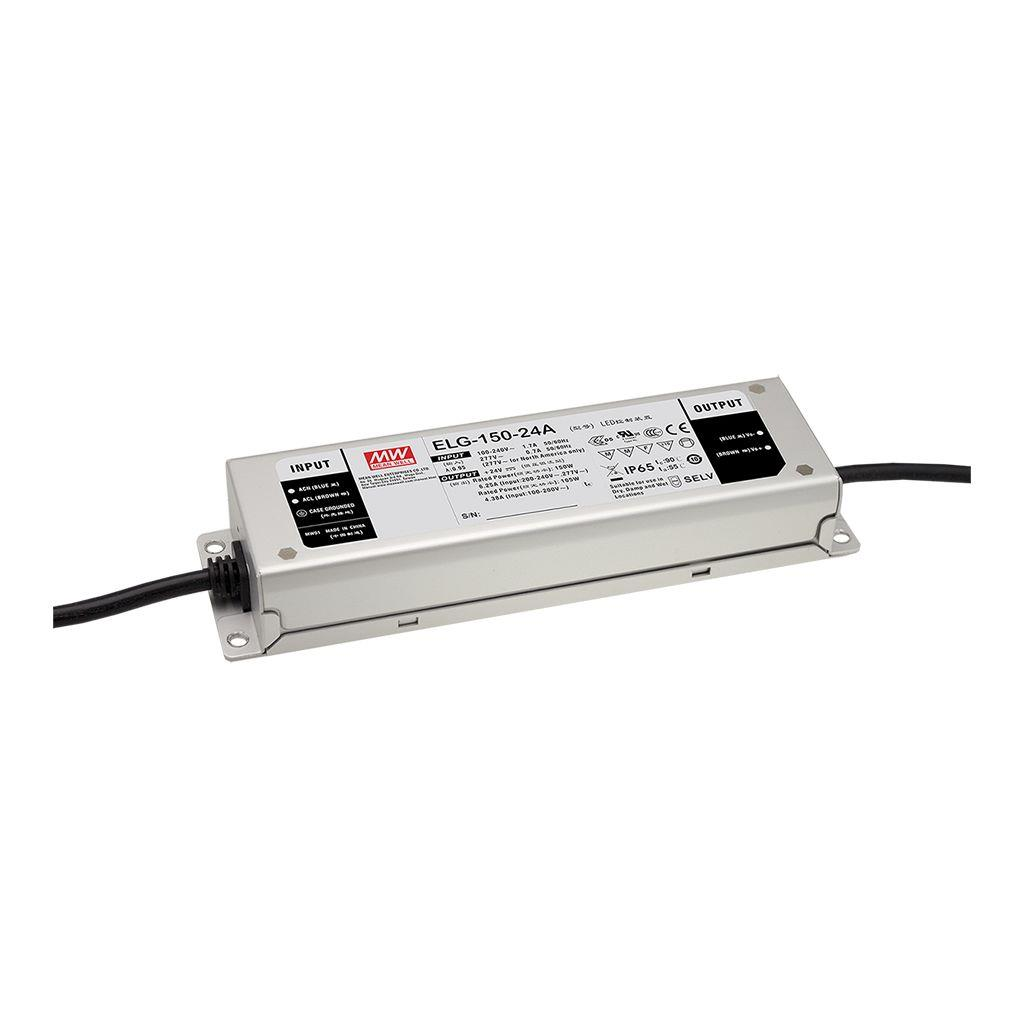 Mean Well ELG-150-36B-3Y AC/DC C.C. C.V. Box Type - Enclosed 36V 4.17A LED Driver