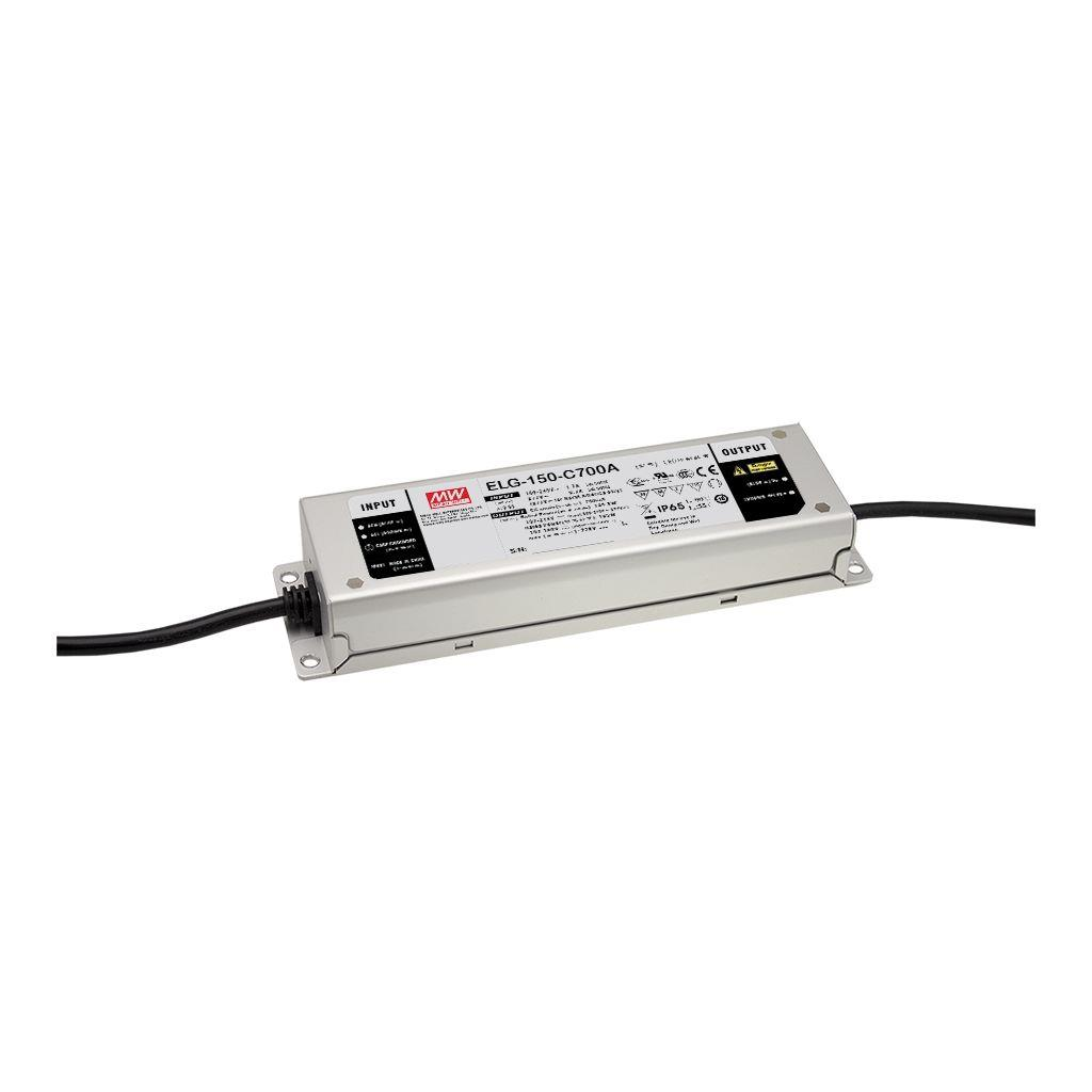 Mean Well ELG-150-C1400-3Y AC/DC C.C. Box Type - Enclosed 107V 1.4A LED Driver