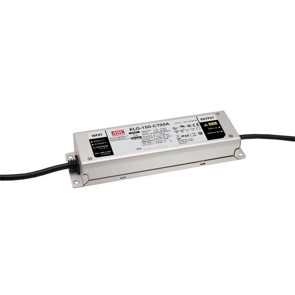 Mean Well ELG-150-C500DA AC/DC C.C. Box Type - Enclosed 300V 0.5A Single output LED Driver