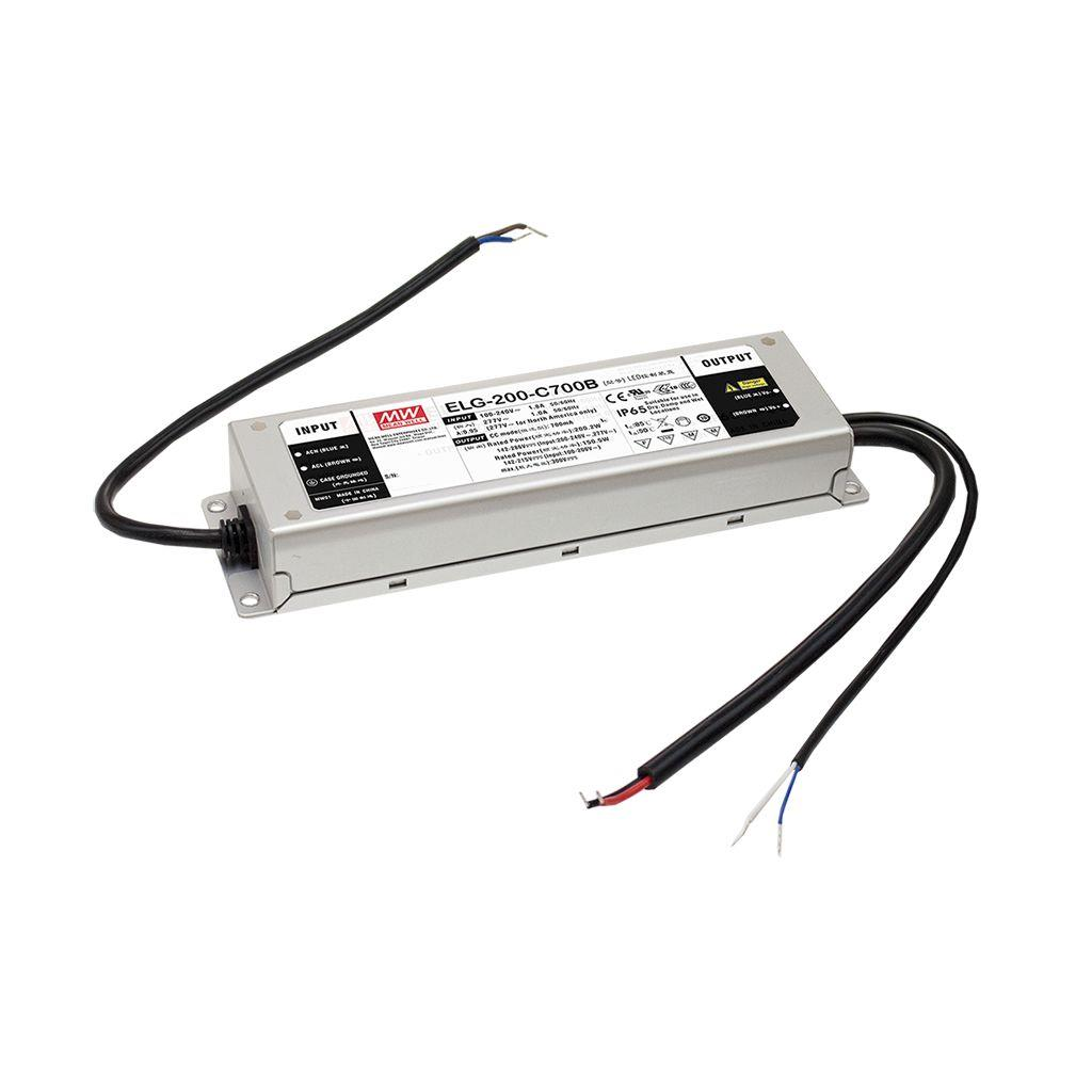 Mean Well ELG-200-C2100AB AC/DC Box Type - Enclosed 96V 2.1A Single output LED driver