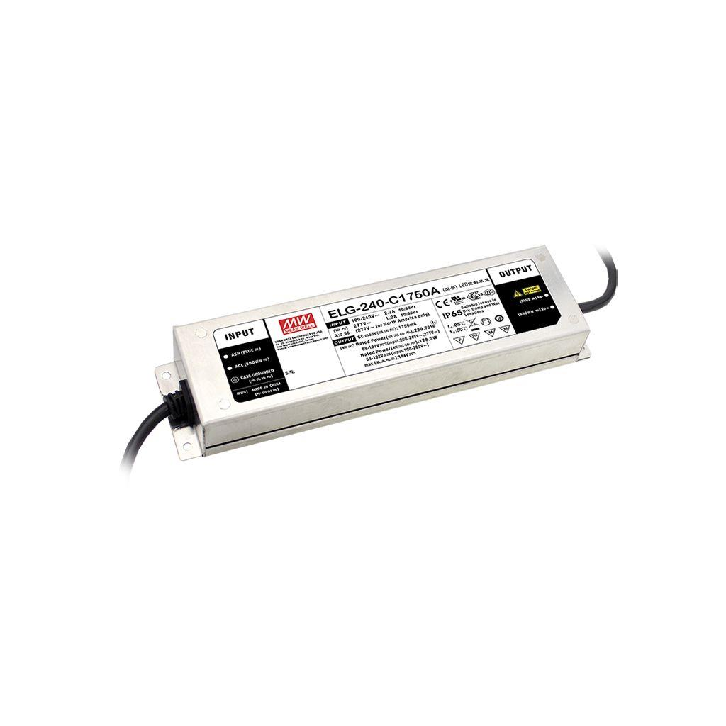 Mean Well ELG-240-54D2-3Y AC/DC C.C. C.V. Box Type - Enclosed 54V 4.45A LED Driver
