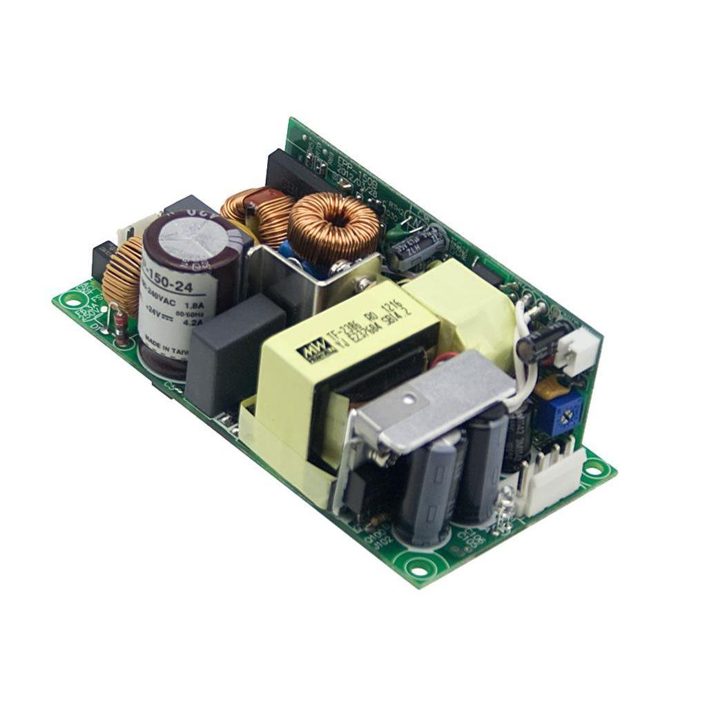 Mean Well EPP-150-24 AC/DC Open Frame - PCB 24V 4.2A Power Supply