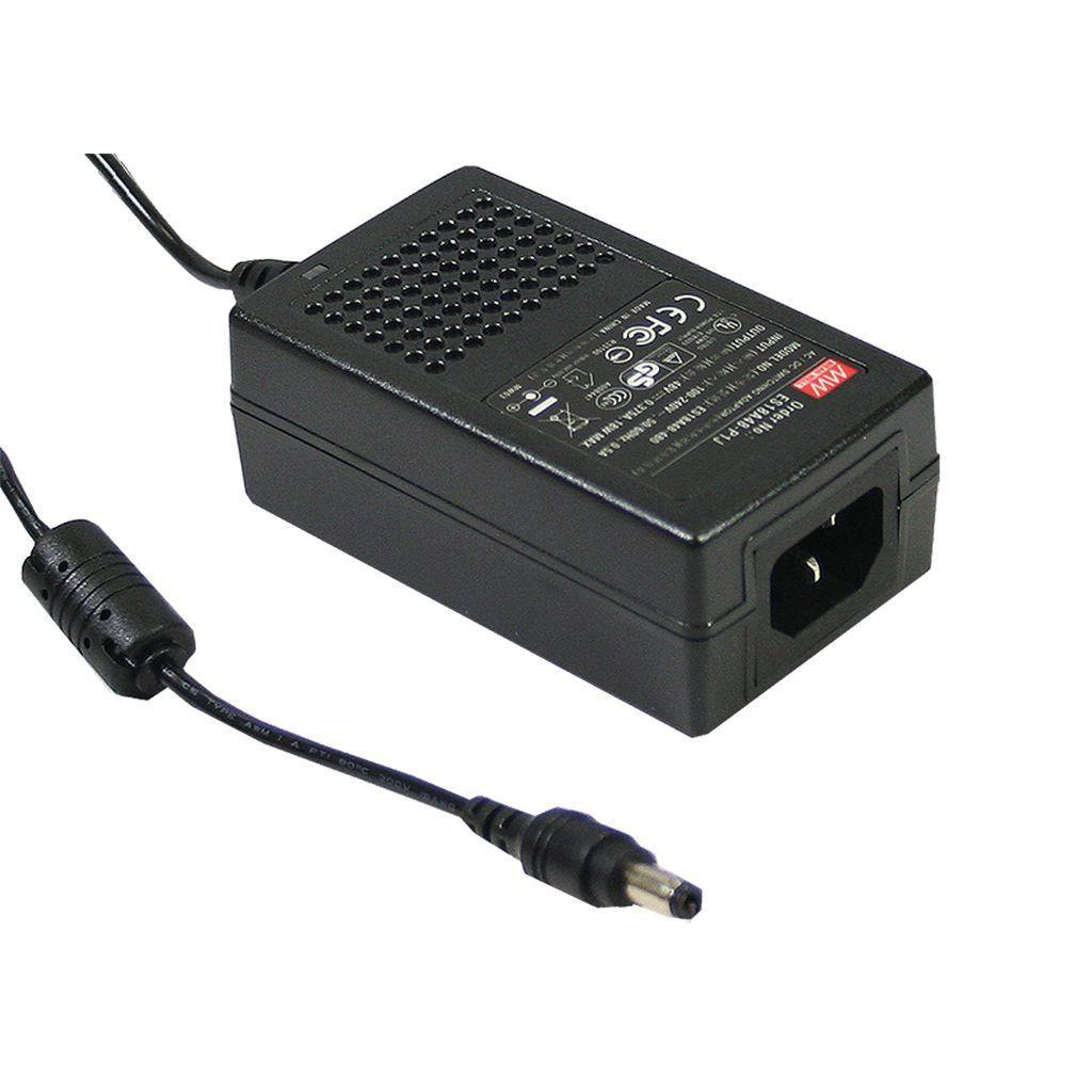 Mean Well GS25A12-P1J AC/DC Desktop 12V 2.08A adaptor