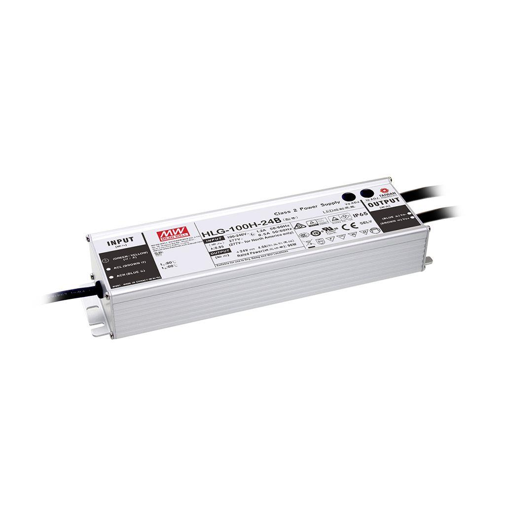 Mean Well HLG-100H-54AB AC/DC Box Type - Enclosed 54V 1.77A Single output LED driver