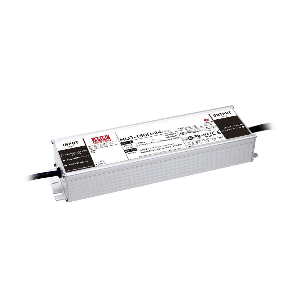 Mean Well HLG-150H-20AB AC/DC Box Type - Enclosed 20V 7.5A Single output LED driver