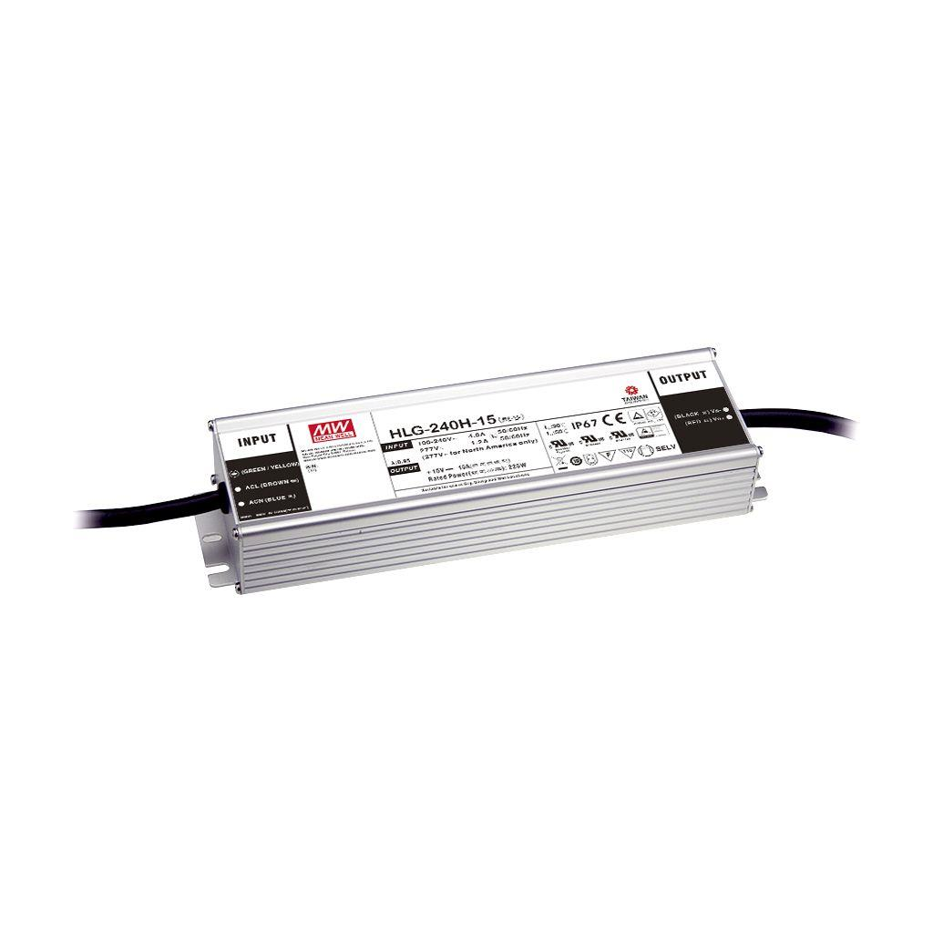 Mean Well HLG-240H-20AB AC/DC Box Type - Enclosed 20V 12A Single output LED driver