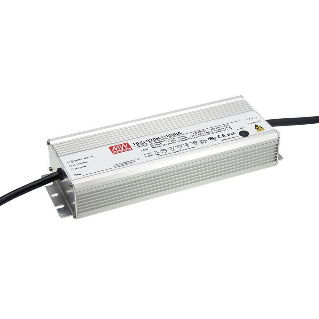 Mean Well HLG-320H-C3500A AC/DC C.V. C.C. Box Type - Enclosed 91V 3.5A Power Supply