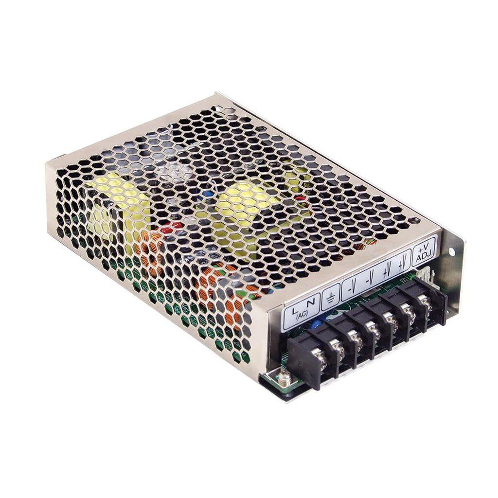 Mean Well HRP-100-5 AC/DC Box Type - Enclosed 5V 17A Power Supply