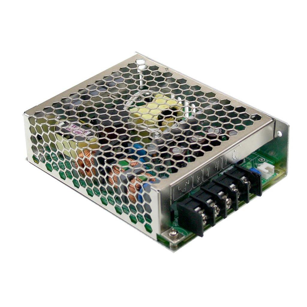 Mean Well HRP-75-15 AC/DC Box Type - Enclosed 15V 5A Power Supply