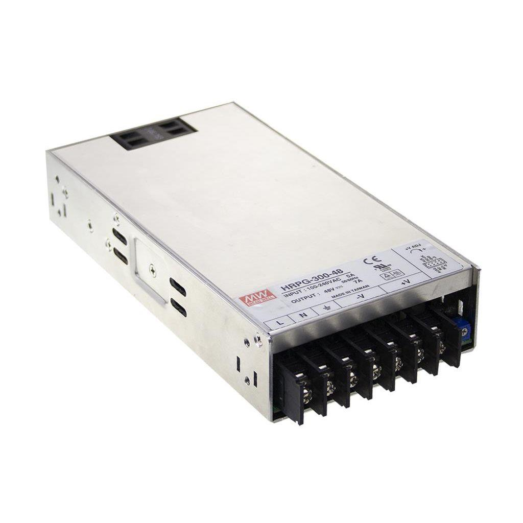 Mean Well HRPG-300-48 AC/DC Box Type - Enclosed 48V 48A Power Supply