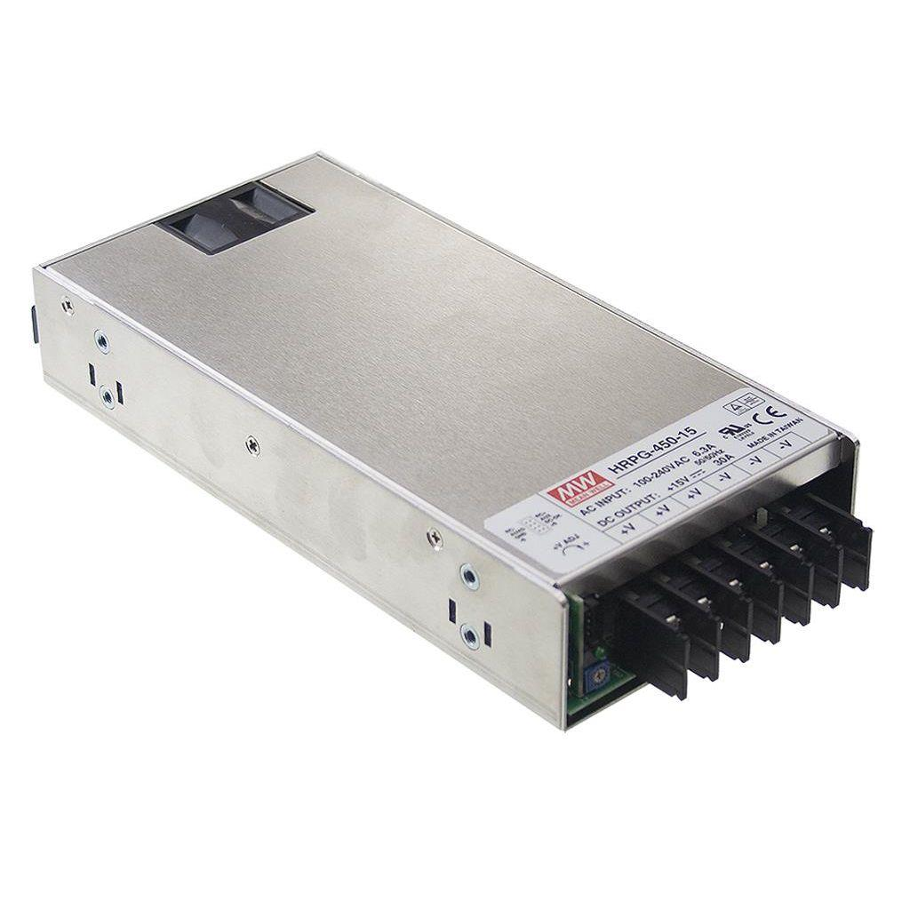 Mean Well HRPG-450-48 AC/DC Box Type - Enclosed 48V 9.5A Power Supply