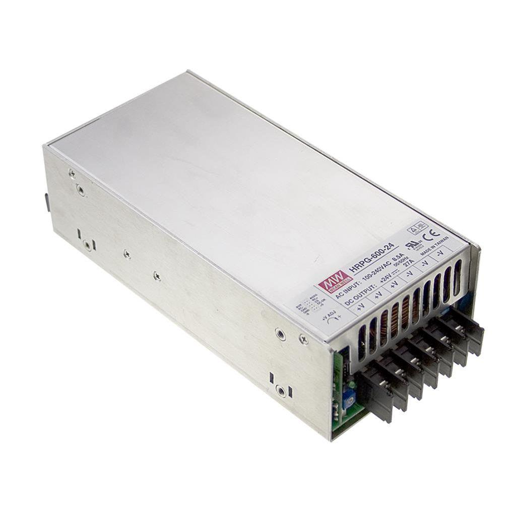 Mean Well HRPG-600-48 AC/DC Box Type - Enclosed 48V 13A Power Supply