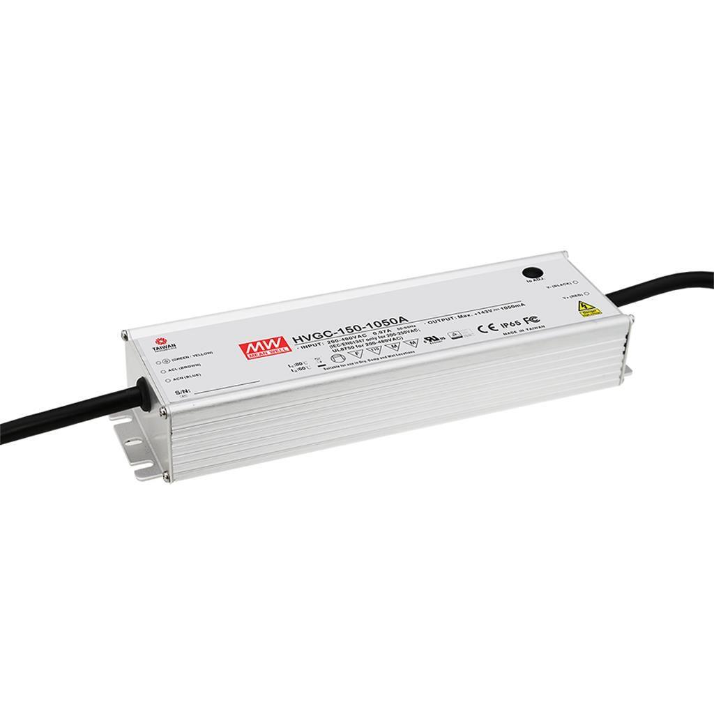 Mean Well HVGC-150-700A AC/DC C.C.  Box Type - Enclosed 215V 0.7A Single output LED driver