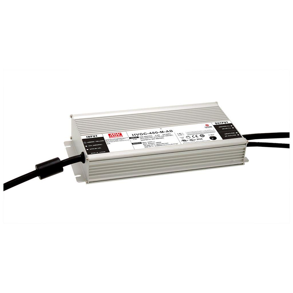 Mean Well HVGC-480-H-D2 AC/DC Box Type - Enclosed 171.5V 2.8A LED Driver