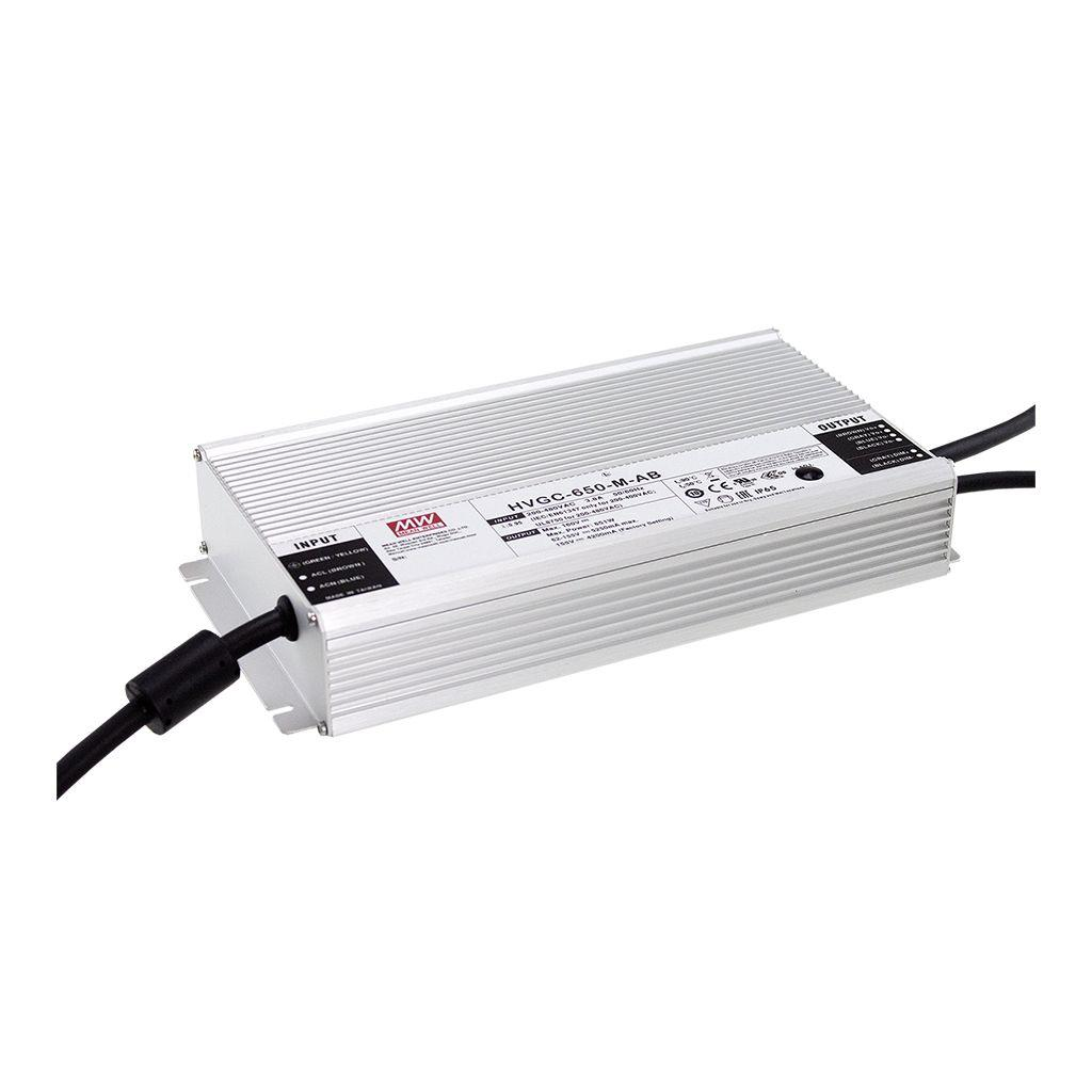 Mean Well HVGC-650A-H-DA AC/DC Box Type - Enclosed 116V 7A  LED Driver