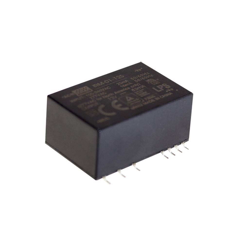 Mean Well IRM-01-3.3S AC/DC PCB Mount - SMD 3.3V 0.3A Power Supply
