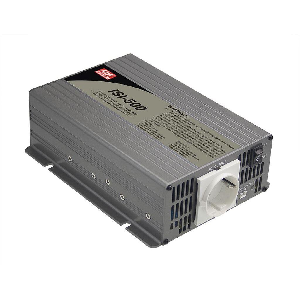 Mean Well ISI-500-224 DC/AC Modified Sine Wave 230V 2.17A Solar inverter