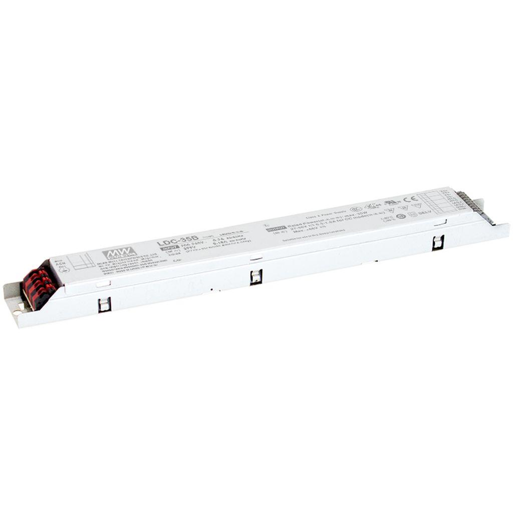 Mean Well LDC-35B AC/DC C.C. C.V. Box Type - Enclosed 56V 1A LED Driver
