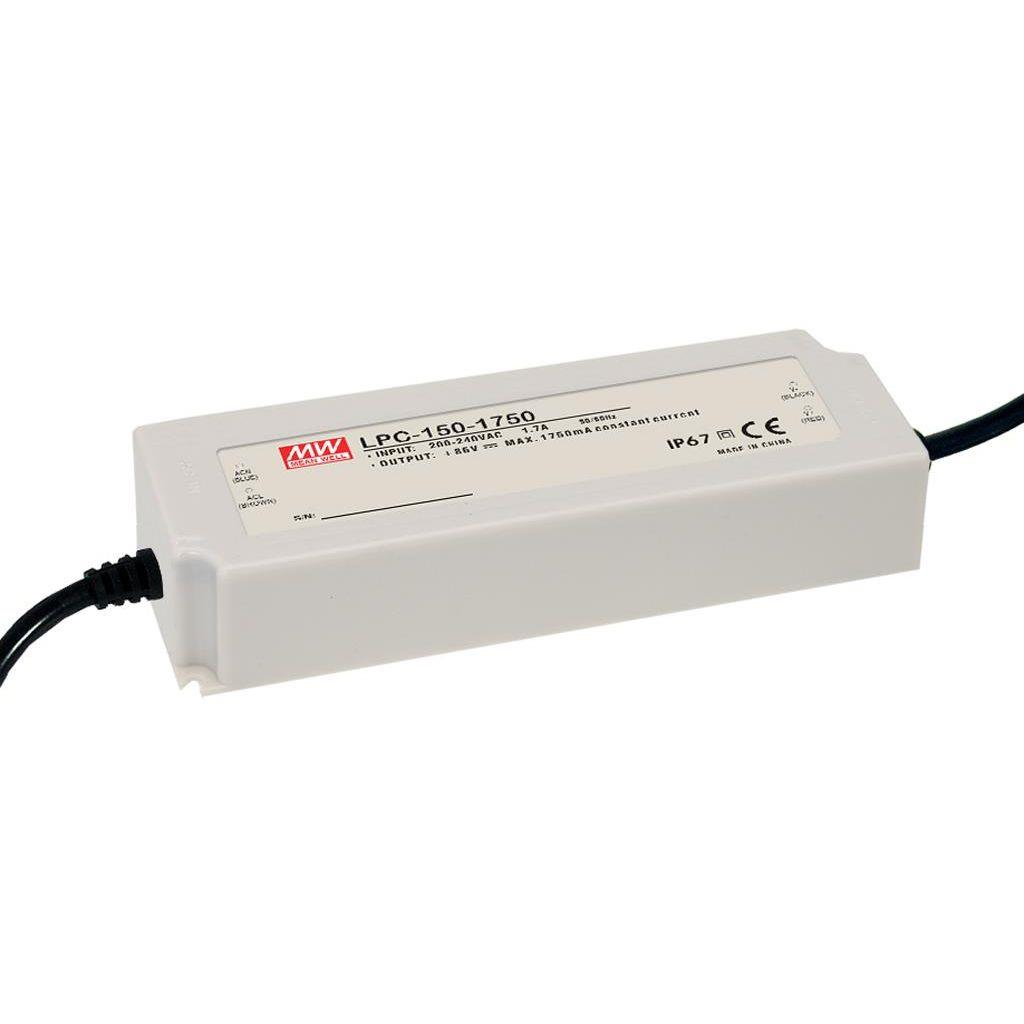 Mean Well LPC-150-3150 AC/DC C.C. Box Type - Enclosed 48V 3.15A Single output LED driver