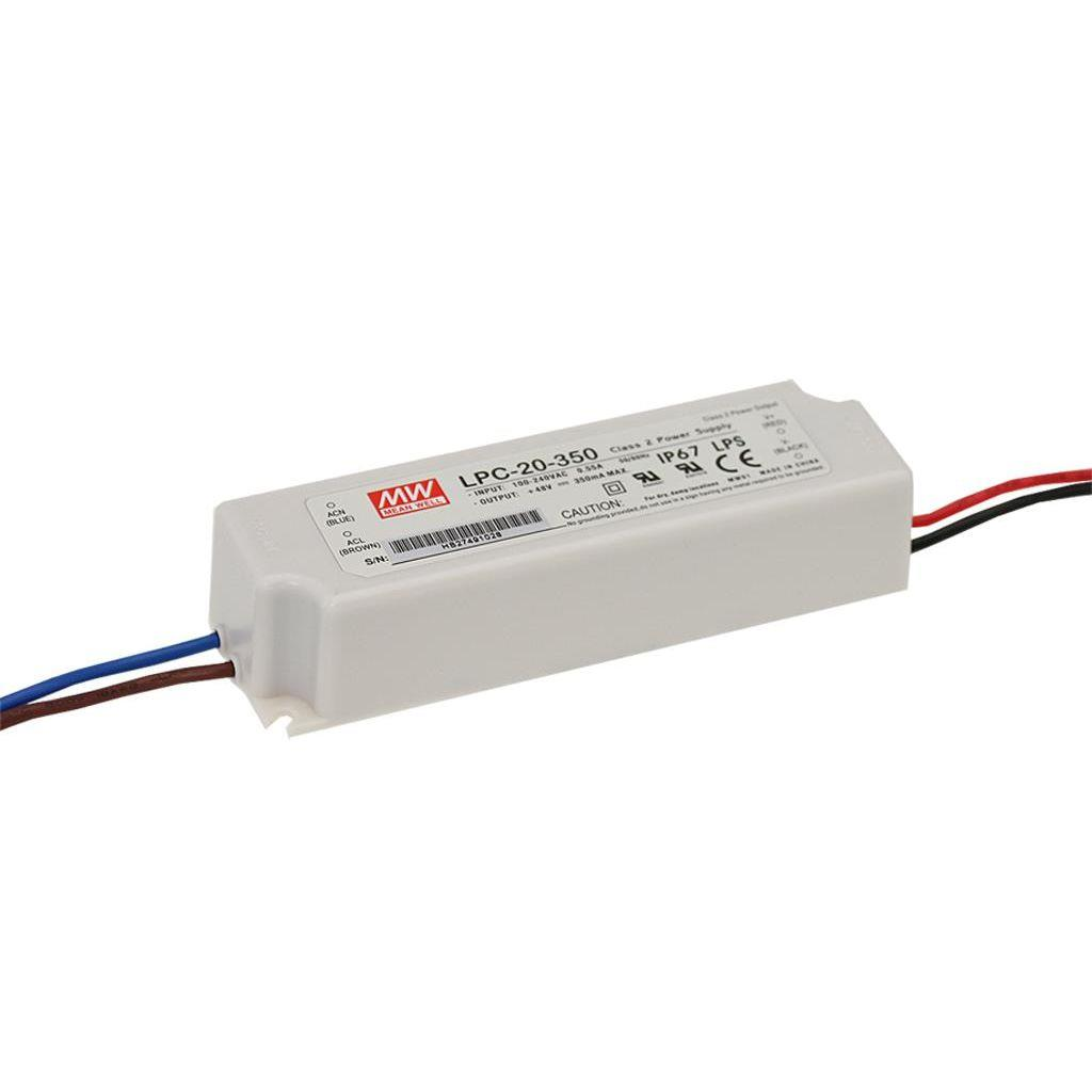 Mean Well LPC-20-700 AC/DC C.C. Box Type - Enclosed 30V 0.7A Single output LED driver