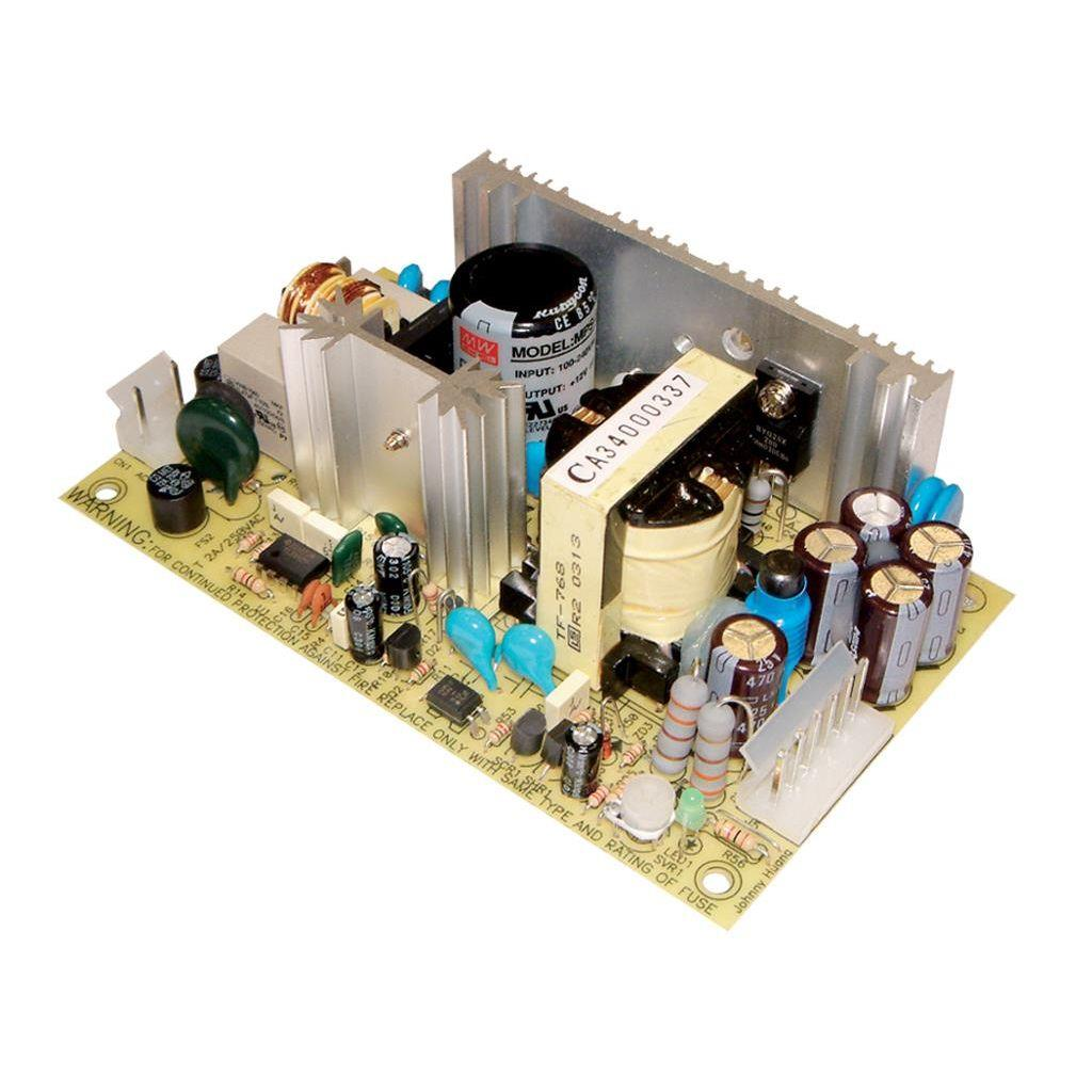 Mean Well MPS-65-27 AC/DC Open Frame - PCB 27V 2.4A Medical Power Supply