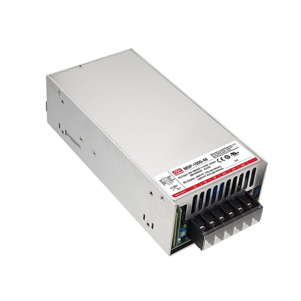 Mean Well MSP-1000-15 AC/DC Box Type - Enclosed 15V 64A Power Supply