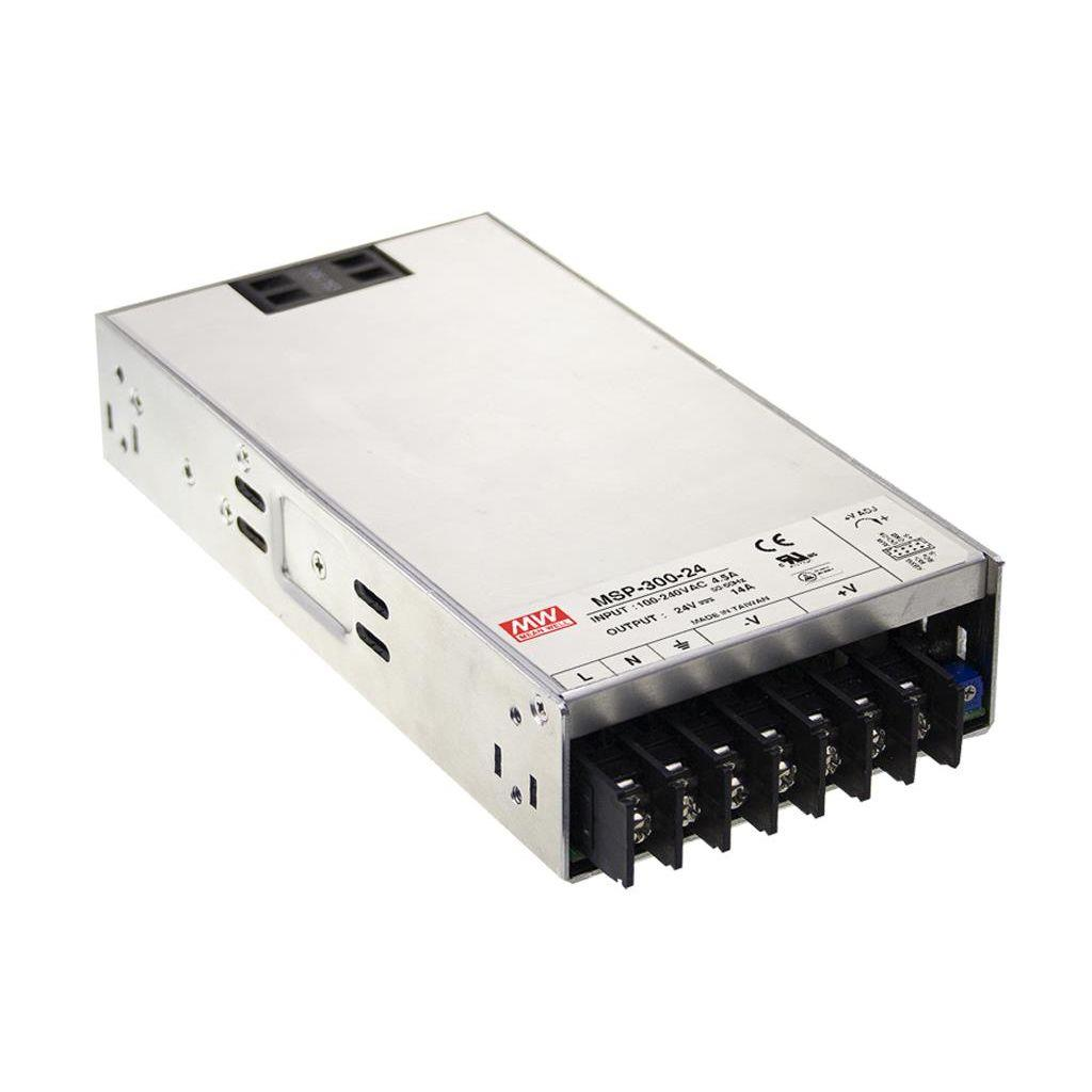 Mean Well MSP-300-5 AC/DC Box Type - Enclosed 5V 60A Power Supply