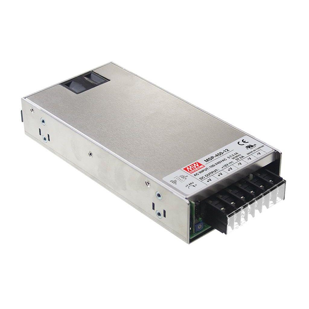 Mean Well MSP-450-7.5 AC/DC Box Type - Enclosed 7.5V 60A Power Supply