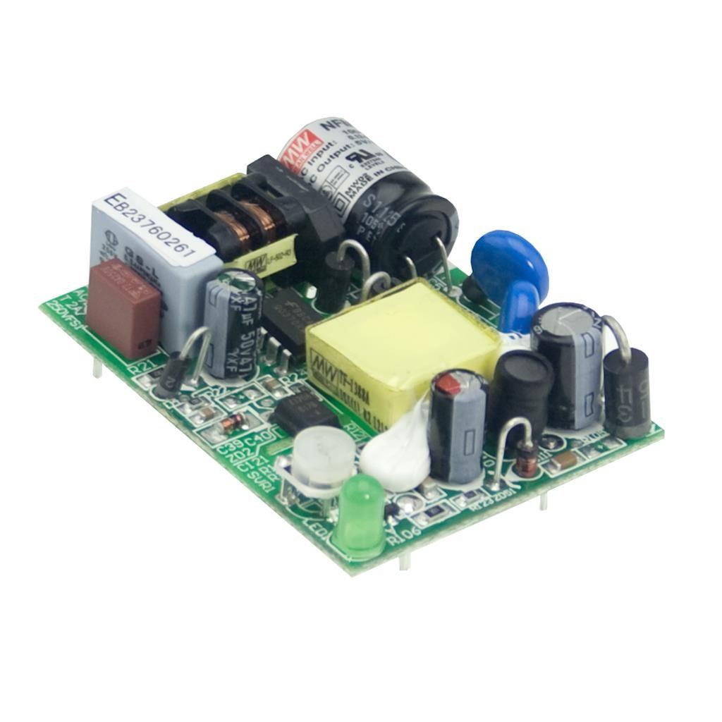 Mean Well NFM-05-24 AC/DC Open Frame - PCB  24V 0.23A Power Supply