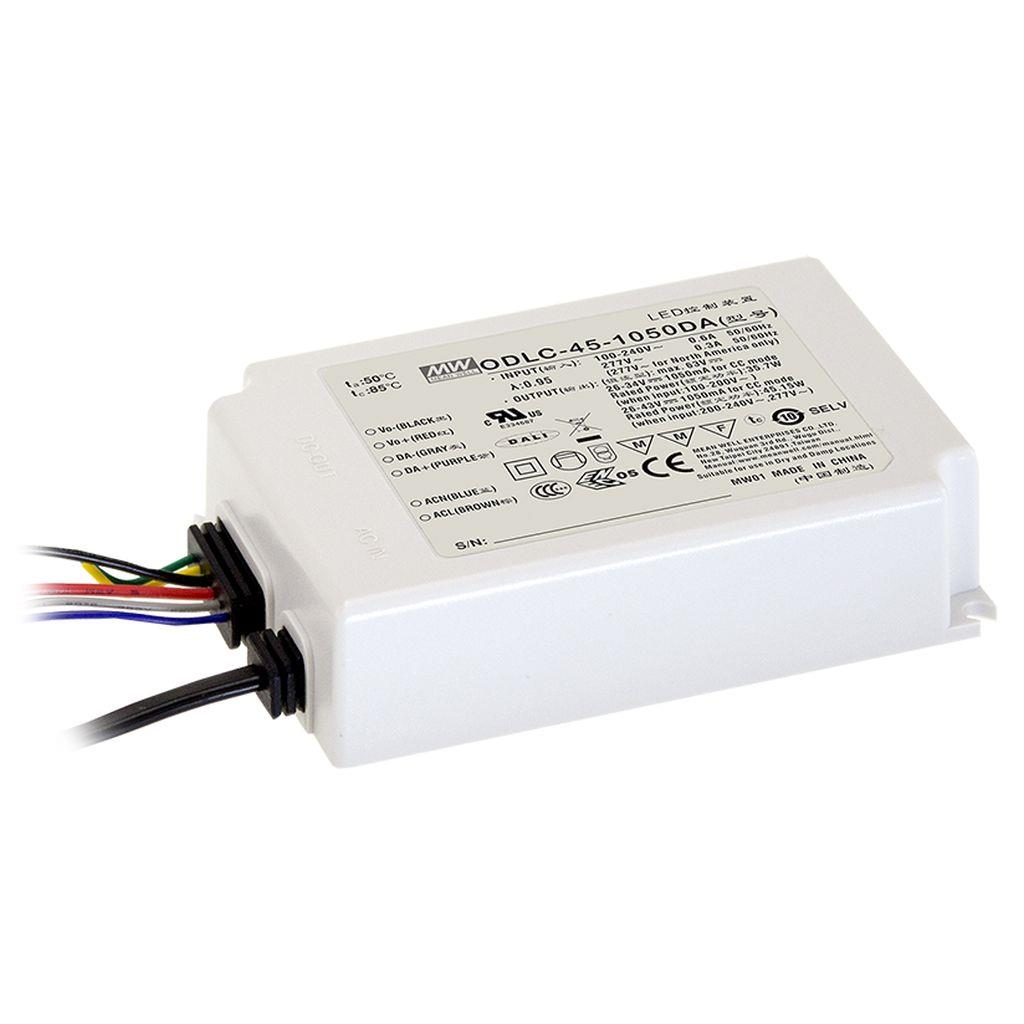 Mean Well ODLC-45-1050DA AC/DC C.C. Box Type - Enclosed 43V 1.05A LED Driver
