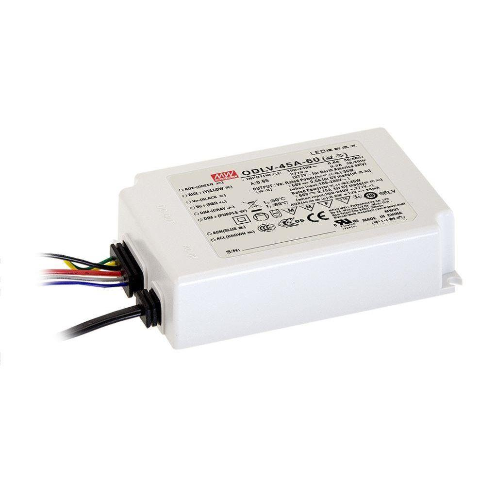 Mean Well ODLV-45A-48 AC/DC C.V. Box Type - Enclosed 48V 0.94A LED Driver