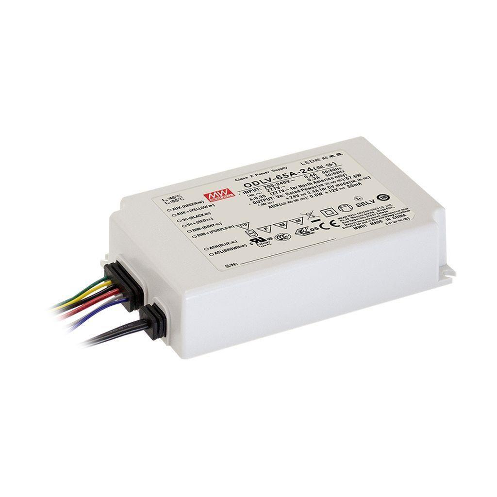 Mean Well ODLV-65A-12 AC/DC C.V. Box Type - Enclosed 12V 4.2A LED Driver