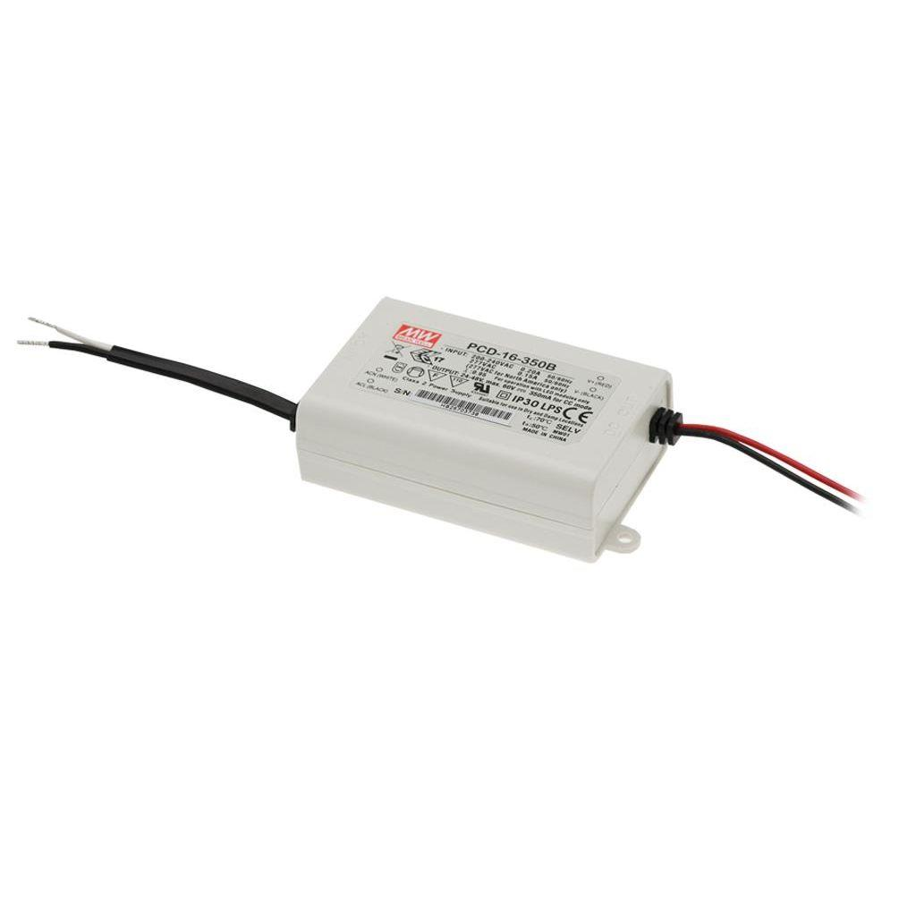 Mean Well PCD-16-1400B AC/DC C.C.  Box Type - Enclosed 12V 1.4A Single output LED driver