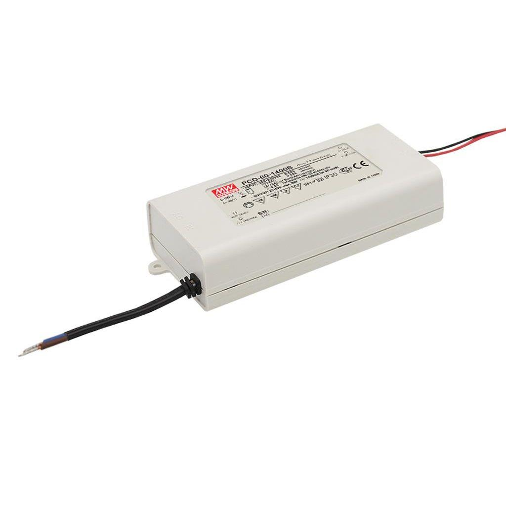 PCD-60-1750B AC/DC C.C.  Box Type - Enclosed 34V 1.75A Single output LED driver