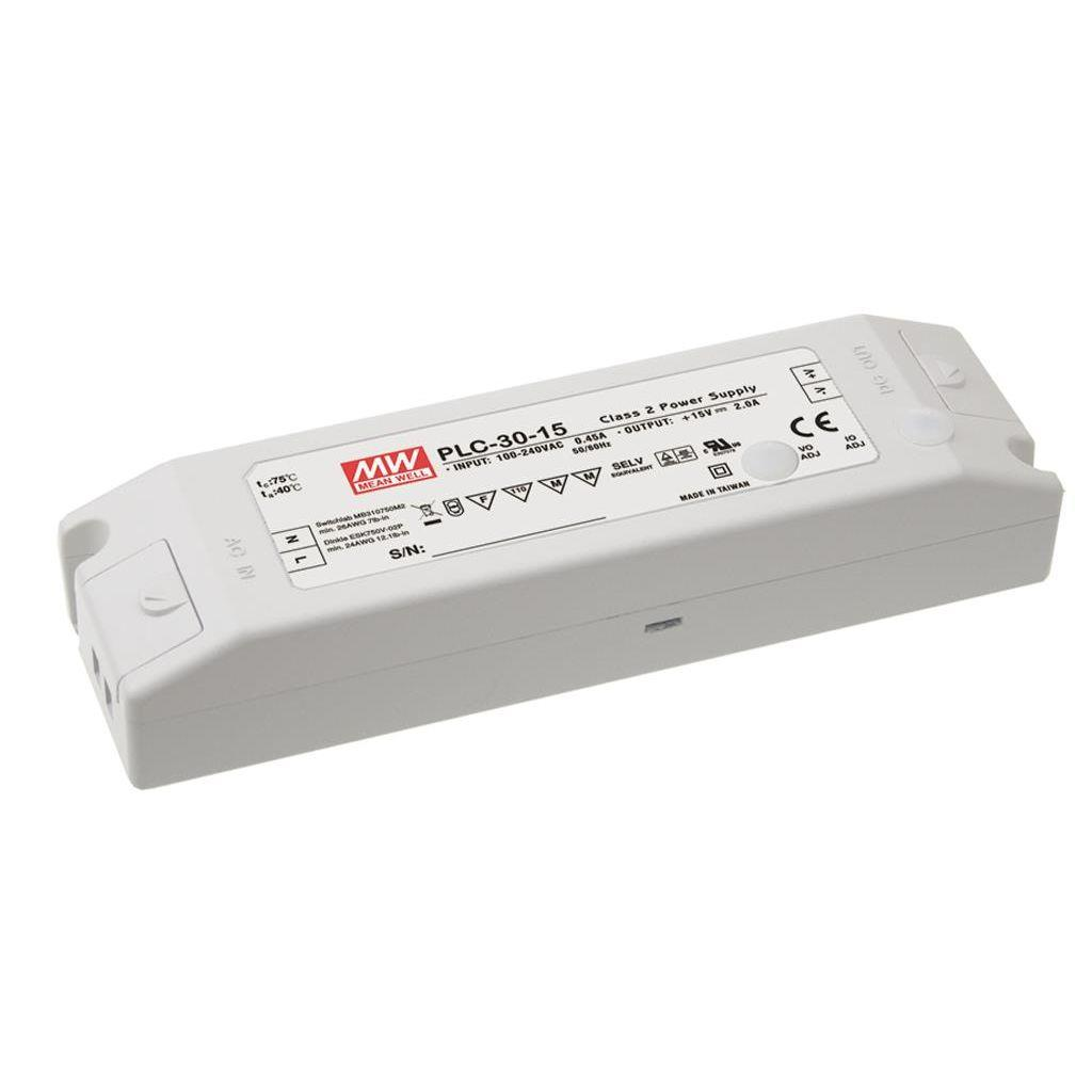 Mean Well PLC-30-48 AC/DC C.C. Box Type - Enclosed 48V 0.84A Single output LED driver