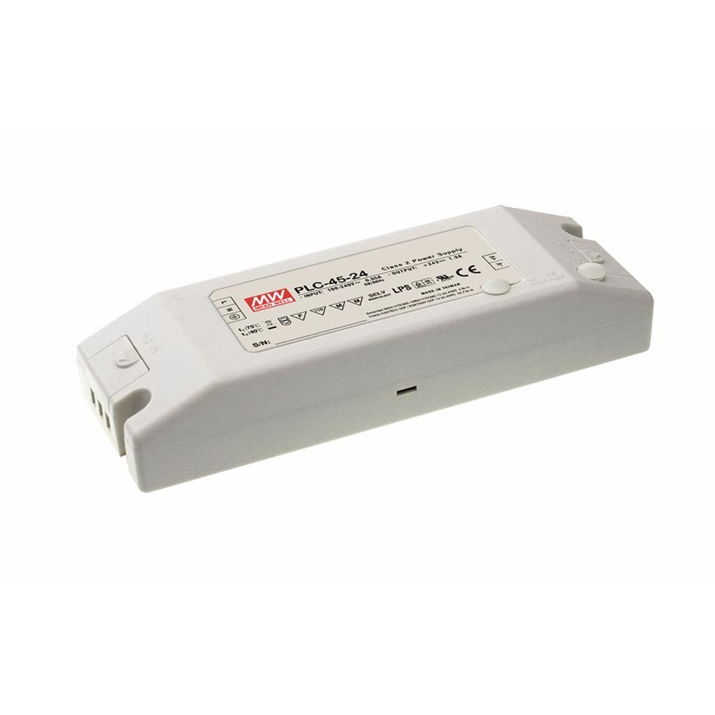 Mean Well PLC-45-36 AC/DC C.C. Box Type - Enclosed 36V 1.25A Single output LED driver