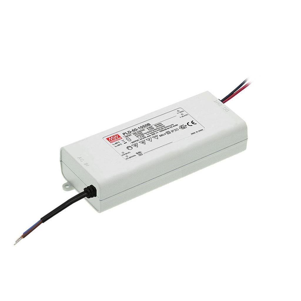 Mean Well PLD-60-2000B AC/DC C.C. Box Type - Enclosed 30V 2A Single output LED driver