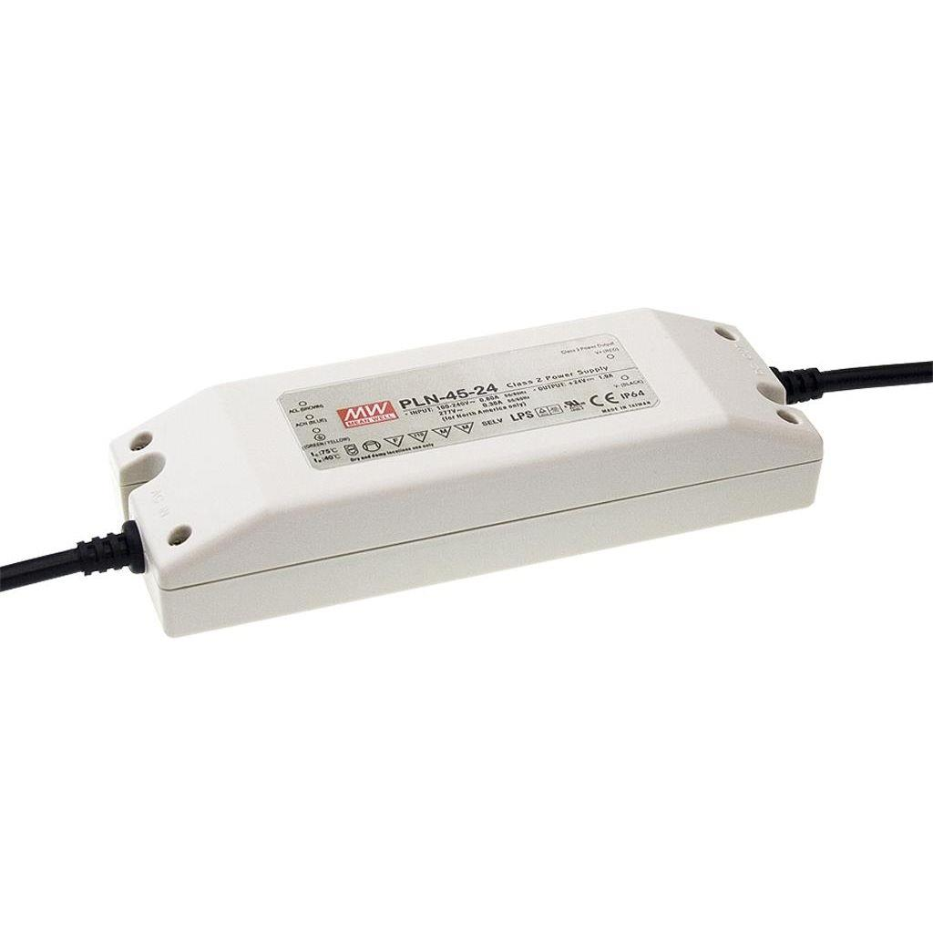 Mean Well PLN-45-36 AC/DC C.C. Box Type - Enclosed 36V 1.25A Single output LED driver