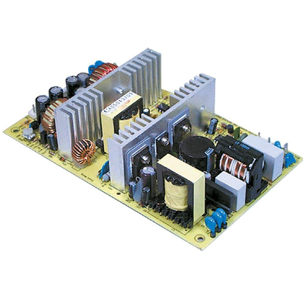 Mean Well PPQ-1003B AC/DC Open Frame - PCB -12V 15A Power Supply