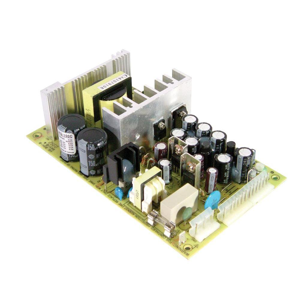 Mean Well PQ-100E AC/DC Open Frame - PCB 15V 8A Power Supply
