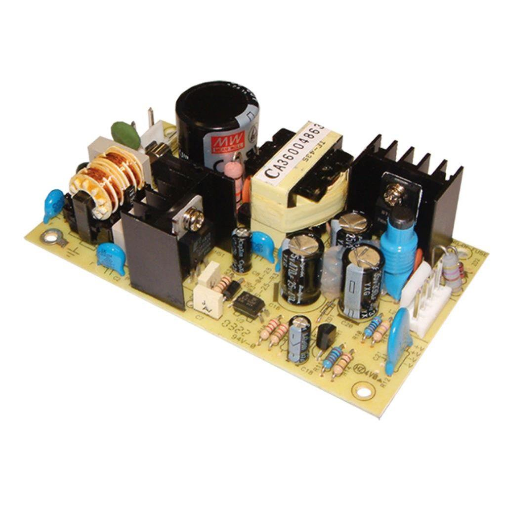 Mean Well PS-25-48 AC/DC Open Frame - PCB 48V 0.5A Power Supply