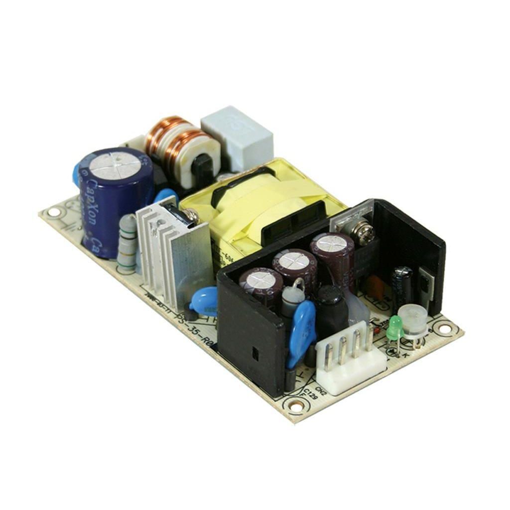 Mean Well PS-35-48 AC/DC Open Frame - PCB 48V 0.73A Power Supply
