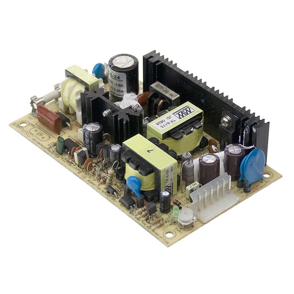 Mean Well PSD-45A-24 DC/DC Open Frame - PCB 24V 1.25A converter