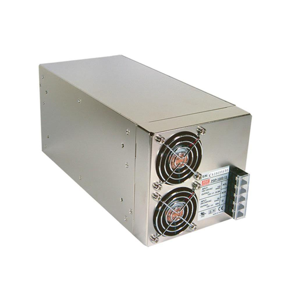 Mean Well PSP-1000-15 AC/DC Box Type - Enclosed 15V 60A Power Supply