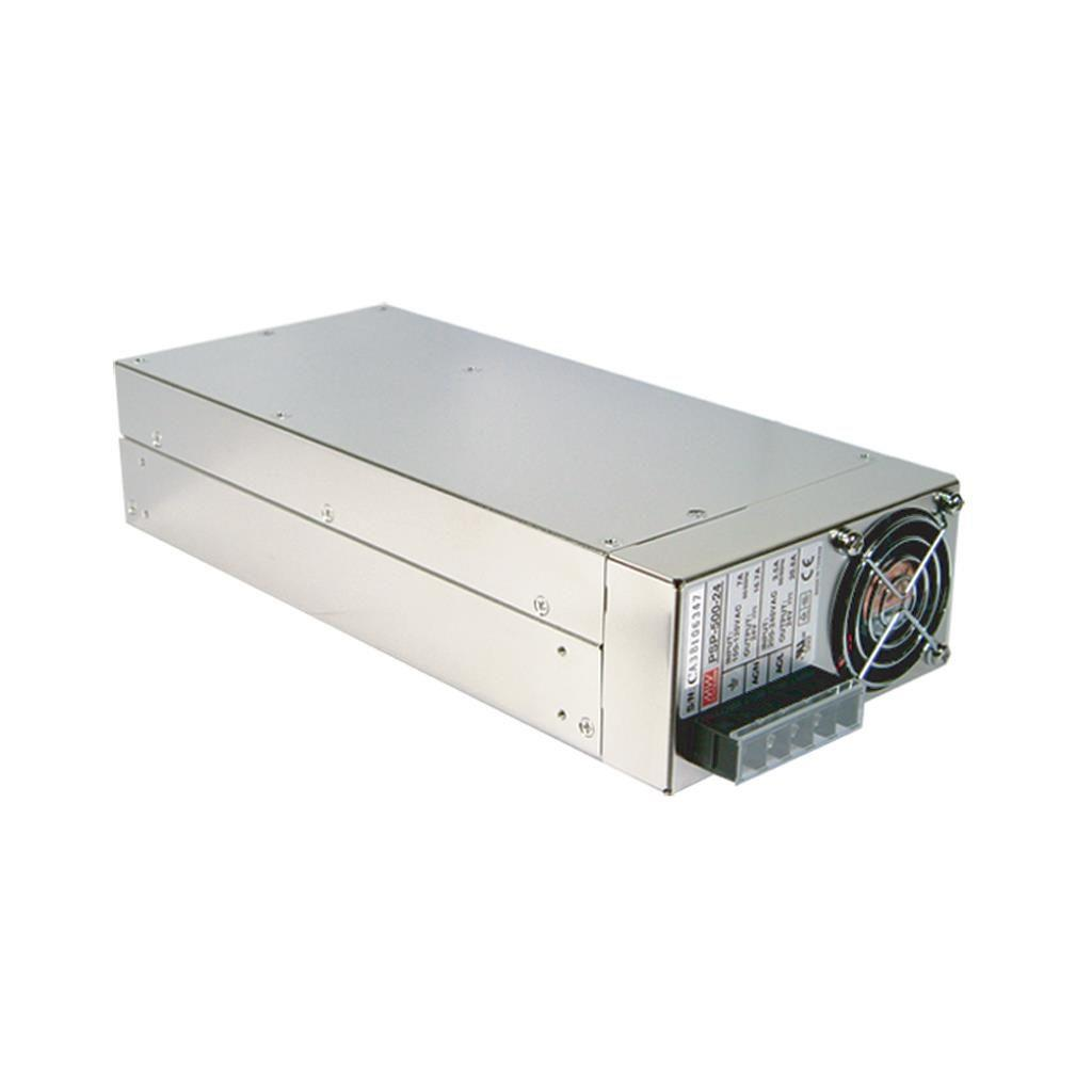 Mean Well PSP-500-24 AC/DC Box Type - Enclosed 24V 20.8A Power Supply